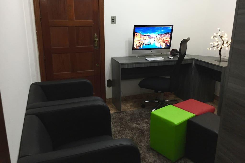 "Sala - Living room - iMac 27"""