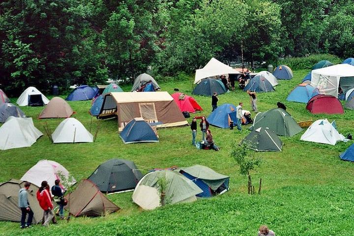 Small camping Samara Arena