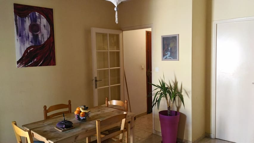 cute flat near train station and airport shuttle - Toulouse - Lägenhet