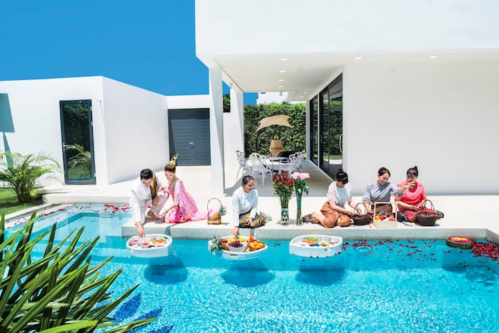 [PRIVATE POOL]  LUXURY VILLA, CENTRAL  PATTAYA