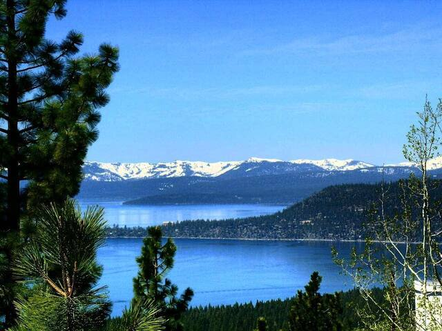 Spectacular Lake Tahoe  & Ski View