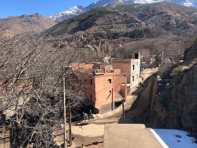 Imlil Atlas mountain