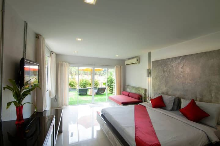Deluxe Room with Mountain view in Ao Nang!