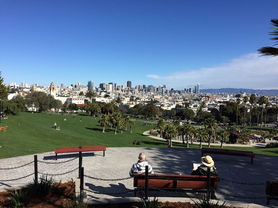 View home mission dolores park btwn castro noe houses for King s fish house mission valley