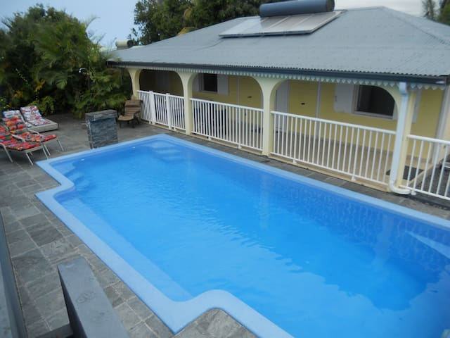 VILLA DES BERGES piscine/terrasse/varangues/jardin
