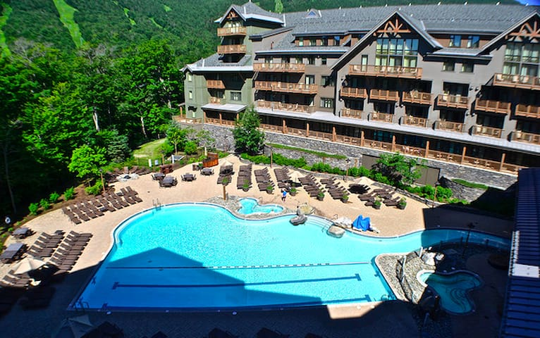 Stowe Mountain Lodge Front Four 3 bed, 4 bath - Stowe - Appartement en résidence