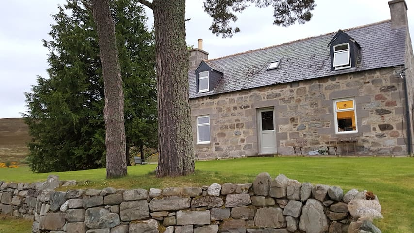 Boutique Highland Cottage with stunning views!