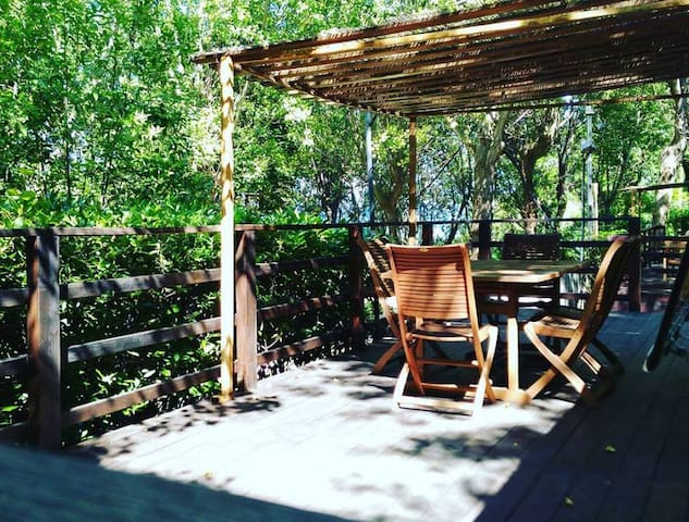 Accogliente casa mobile nel verde del parco - Gabicce Mare - Bungalow
