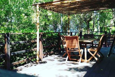 Accogliente casa mobile nel verde del parco - Gabicce Mare - Cabana