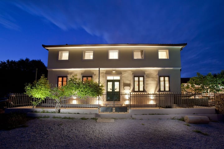 Attractive villa with private swimming pool, beach volleyball and fenced garden