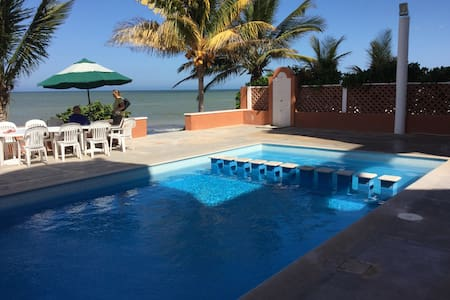 Beachfront apartment, amazing view - Progreso - Huoneisto
