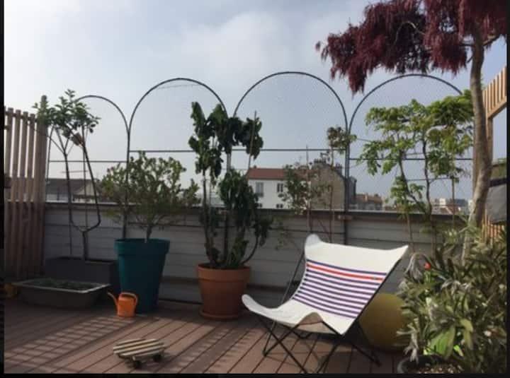 Maison roof top