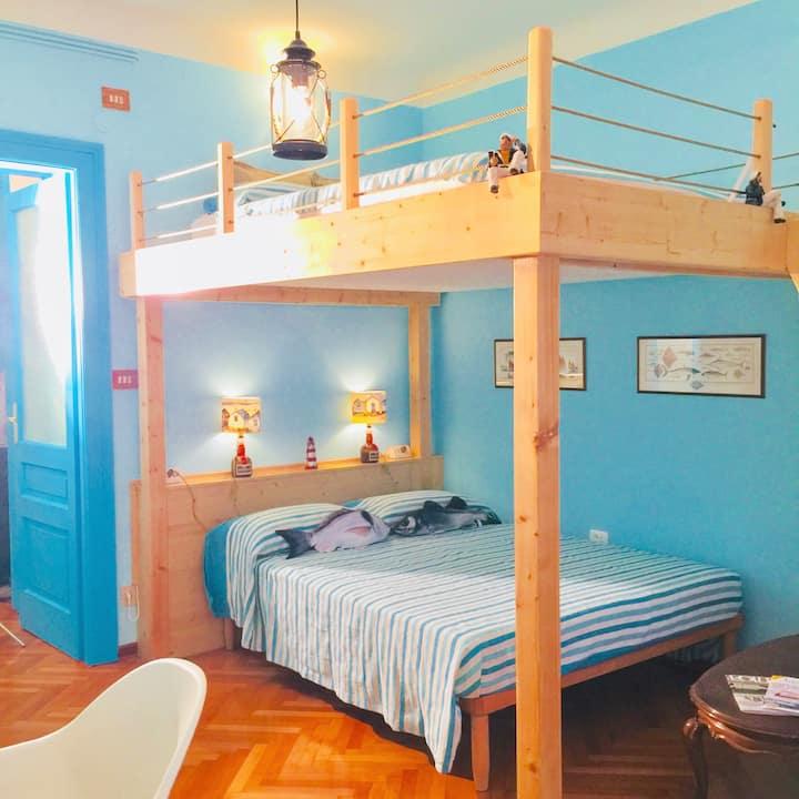 LA CAPITAINE: la vostra CASA di charme a Trieste.