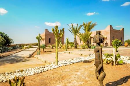 Ecolodge 25 min from Marrakech - Agafay to Atlas