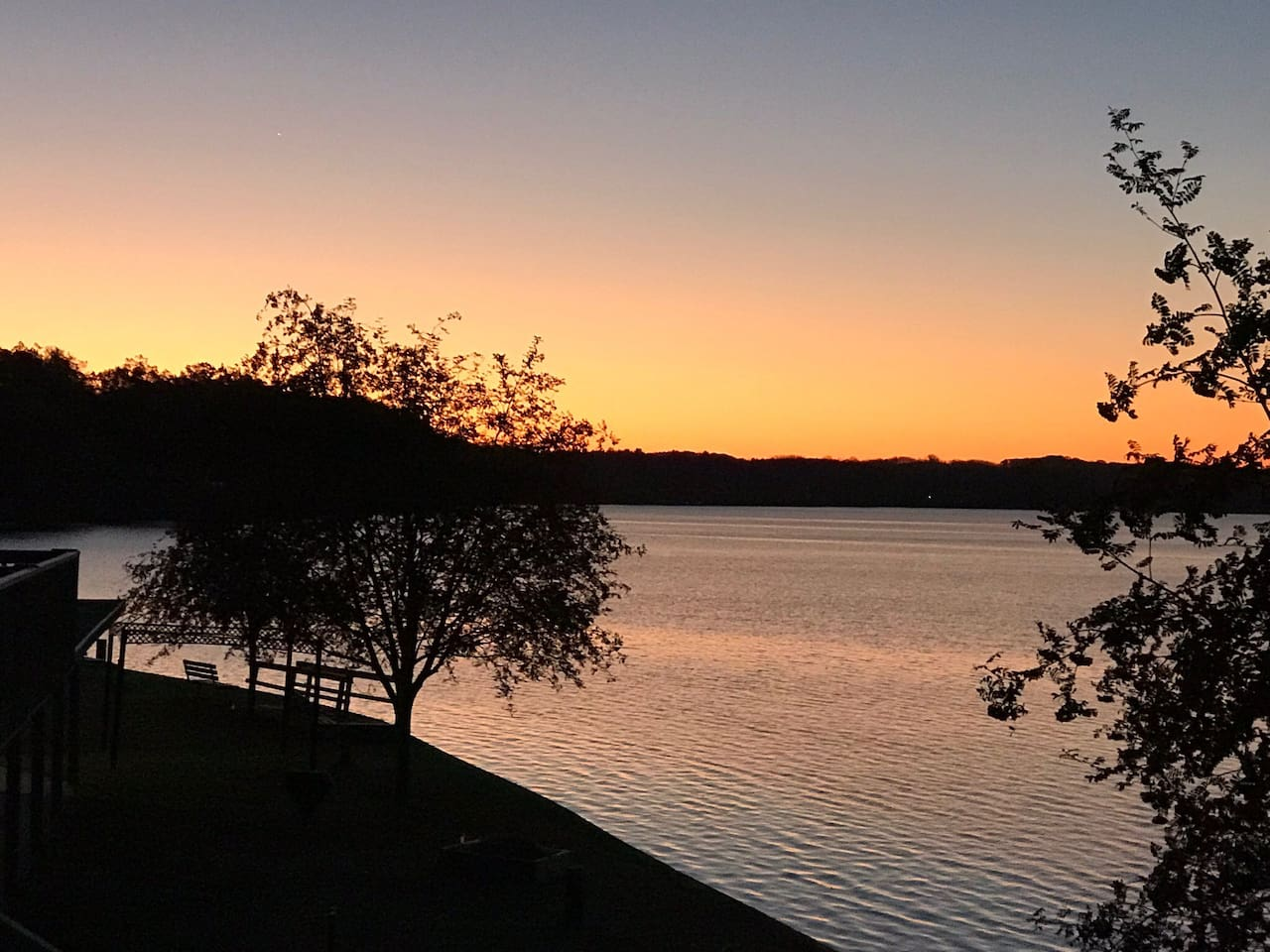 Fife Lake sunset