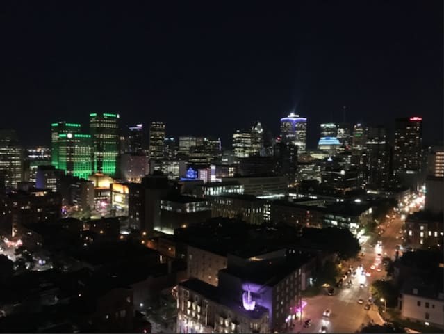 Dazzling View of Montreal, Plateau and Mount Royal
