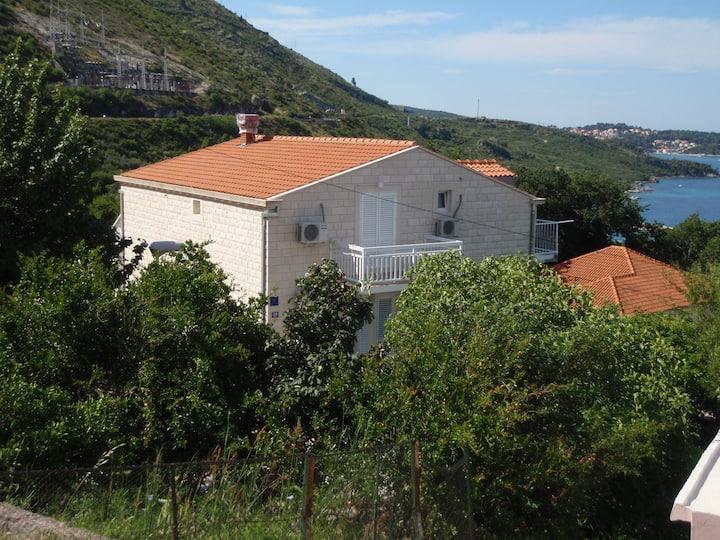 Apartments Mazalin - Sea view balcony , Ap.1
