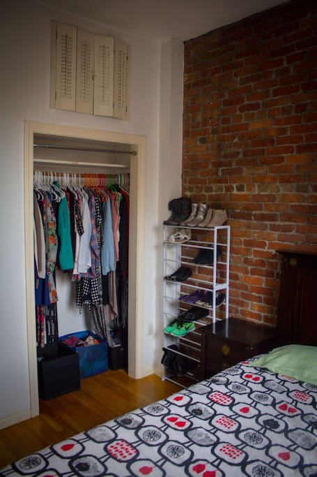 Plenty of closet space