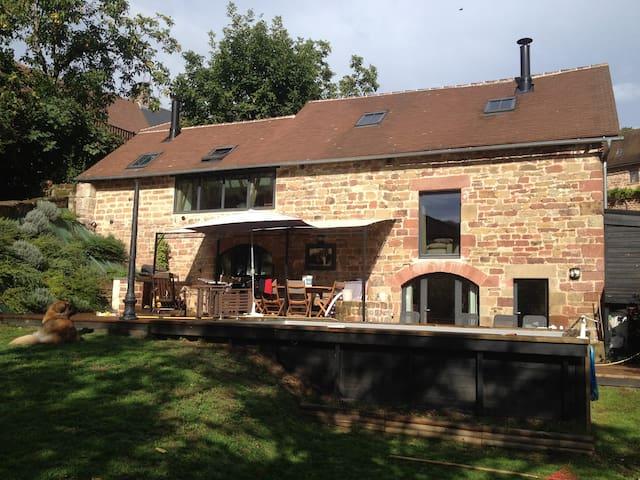 Barn loft of 165 m2