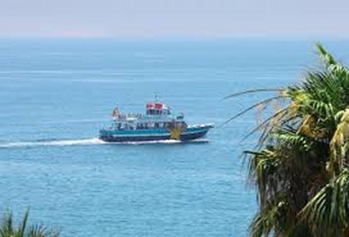 Ferry available from Benalmadena to Fuengirola and Malaga