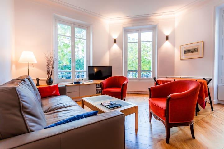❤️2 bedrooms in a classic Parisian flat