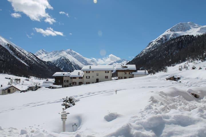 Ruhiges Ferienhaus in Livigno, Italien nahe dem Skigebiet