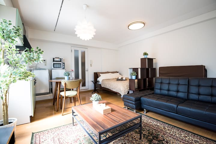 Stylish&Cozy RM in Shirokane ES14 - Shinagawa-ku - Apartamento