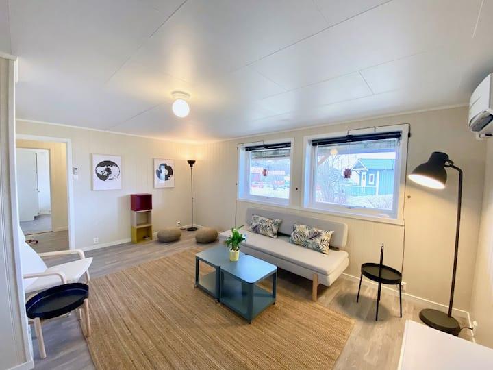 Lelilighet i hus på Å i Lofoten