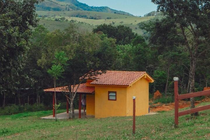 Pousada Águas da Canastra - Chalé amarelo