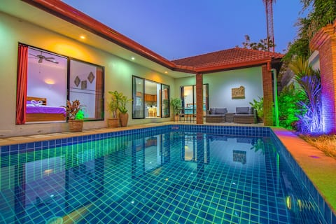 View Talay Villa 5 min by feet away from the beach