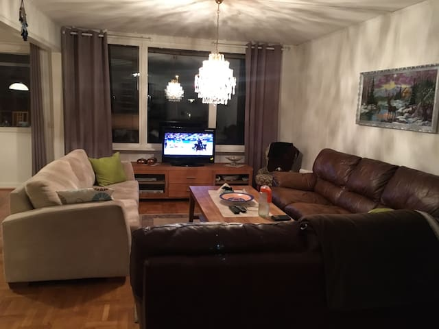 Two story townhouse, close to city - Göteborg - Talo