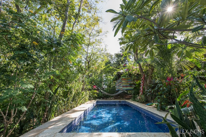 Casa Tranquila poolside 2B bungalow