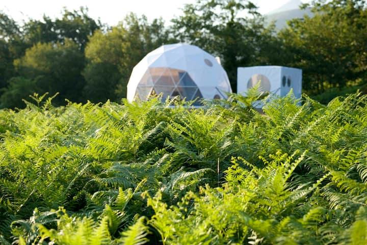 Dome 10 - camping de luxe (ensuite)