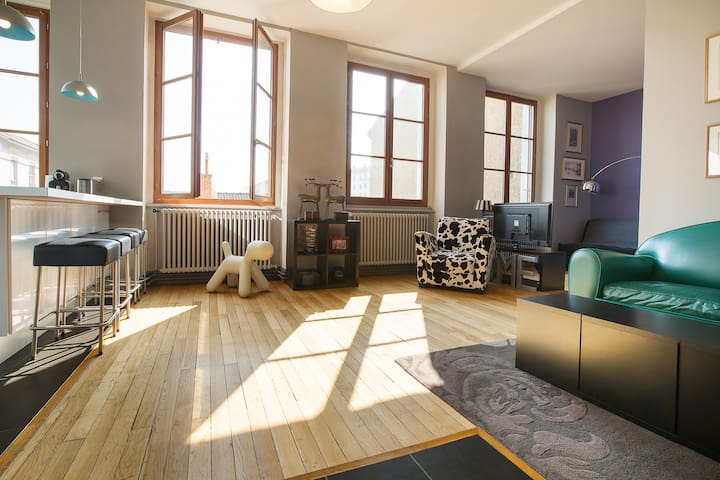 Traditional apartment in Lyon Croix-Rousse - Lyon