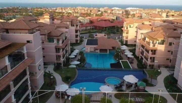 Belíssimo Apart Hotel c/3 Suítes próx ao BeachPark