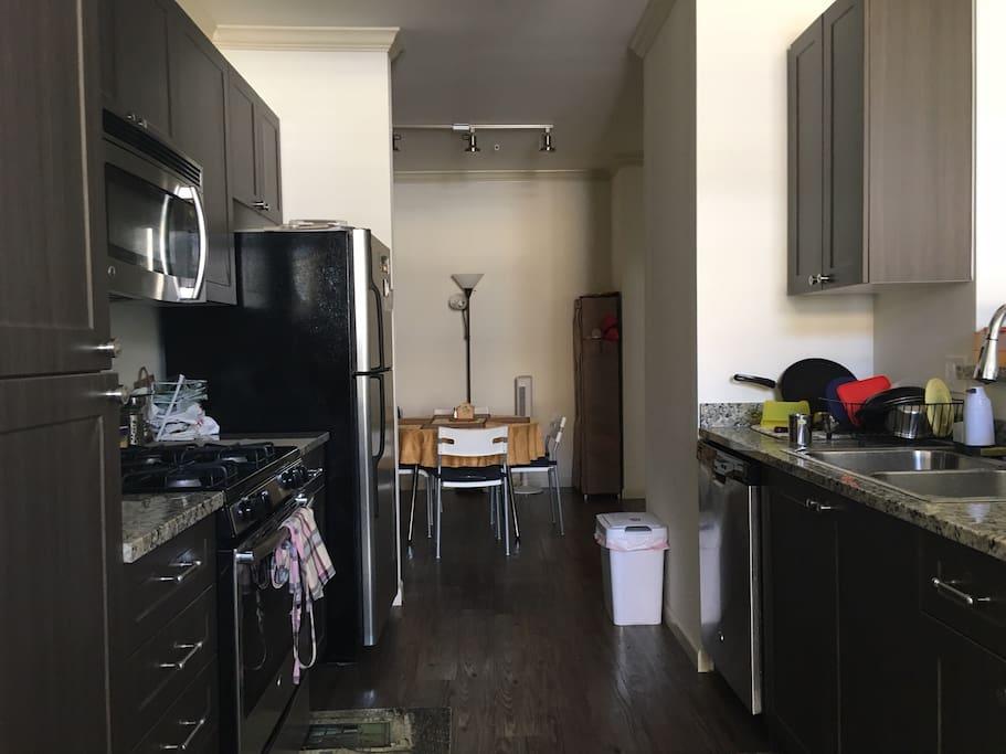 Kitchen: New appliances