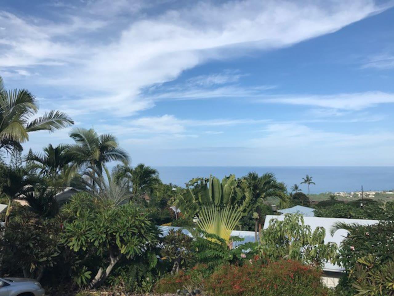 View of horizon