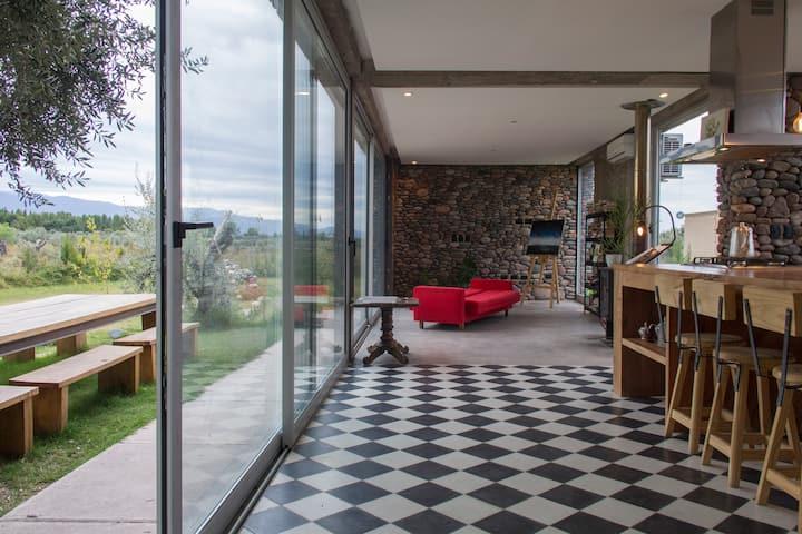 Casa en Vistalba ideal para el distanciamiento :-)