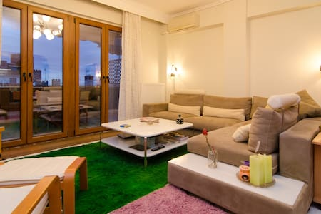 Modern flat with an amazing view - Sikies - Wohnung