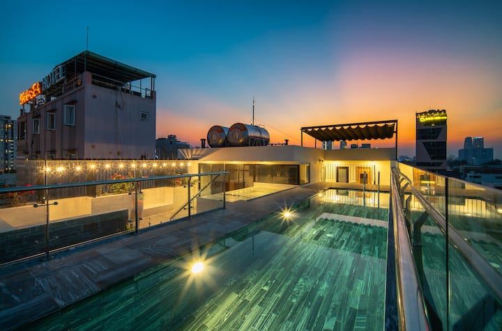 Couple's Getaway★5 mins My Khe beach★Rooftop Pool