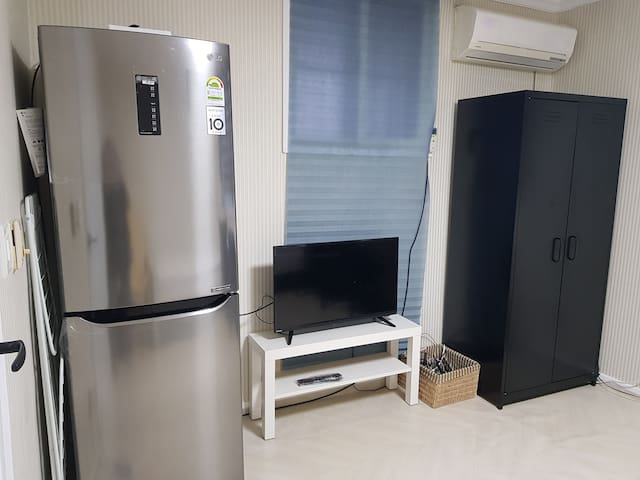 <1>KAIST onfoot 15minit월평역도보7분 2bed.wi-fi