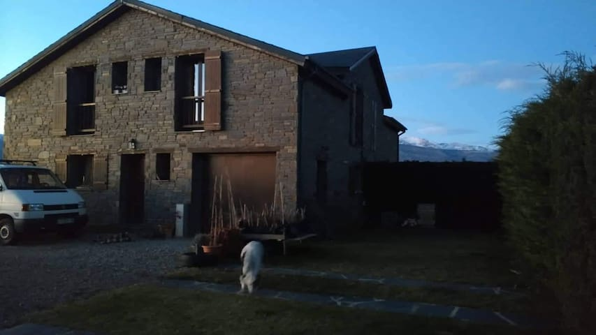 Quiet rural house in the Pyrenees