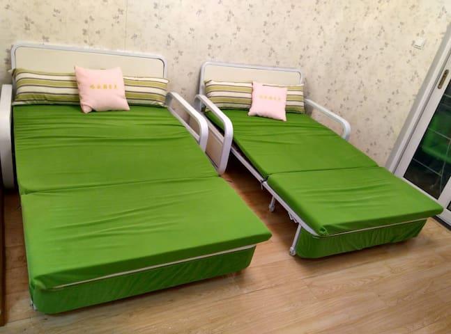快来让你疲惫的身心放松一下,温馨的小屋,交通非常便利,旅游度假首选 - Xi'an - Apartamento