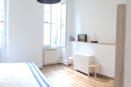 Studio cosy, calme et très lumineux