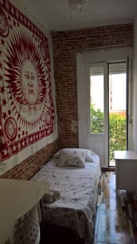 rooms cuatro caminos madrid centro universidad