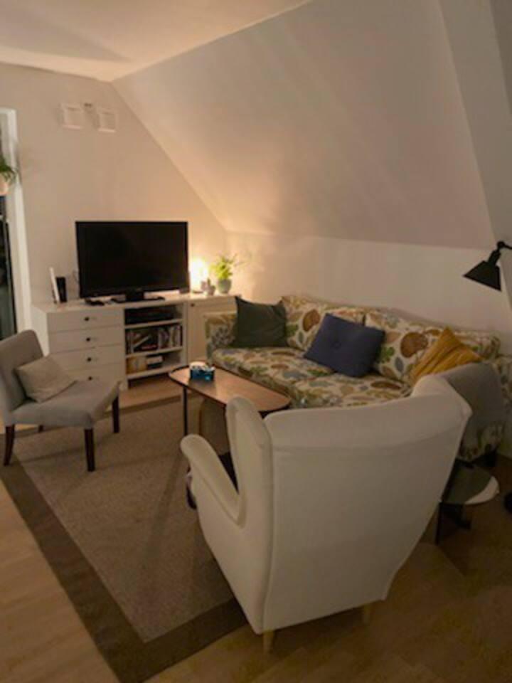 Magnifik lägenhet vidunderlig utsikt över Göteborg