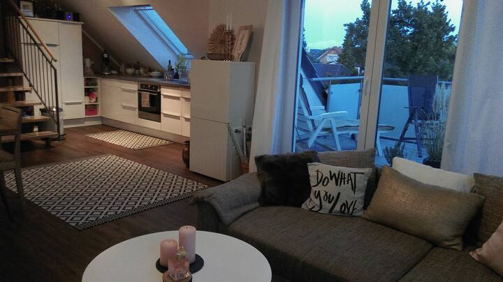 Maisonette Wohnung, Neubau, modern, hell, 83m²