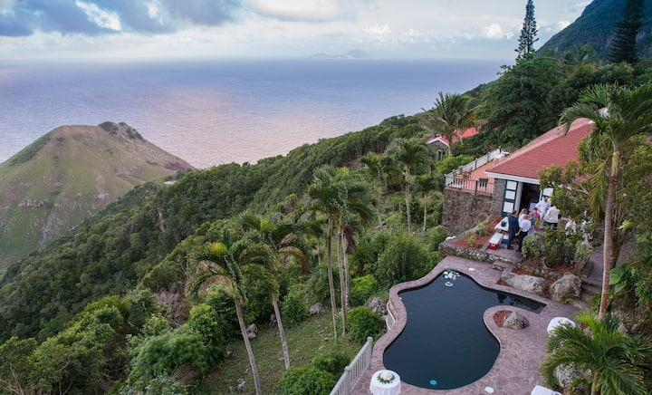 Saba's Finest and Largest Villa