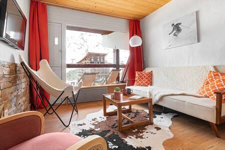 Bel appartement chaleureux ARC 2000