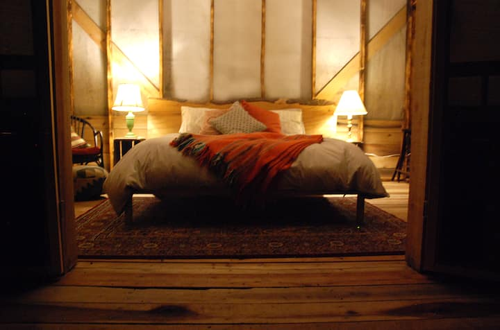 Glamping at Orchard House of Granville